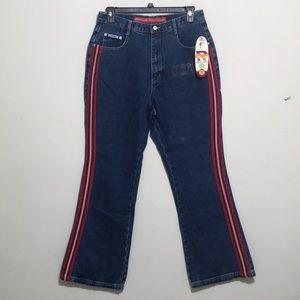 Revolt Women's Fit and flair Denim Jeans Plus Size